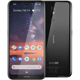 "Nokia 3.2 (TA-1156DS)-6.26"" HD+ Display -16GB Rom + 2GB Ram-13MP + 5MP-Anroid 9 Pie -4000MAH-Black"