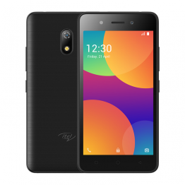 "Itel A16+  Plus 5.0"" Screen (Android 8.1  Edition), 1GB RAM + 8GB ROM, internal storage ,5MP+2MP, 2050mAh Dual SIM 3G - midnight Black"