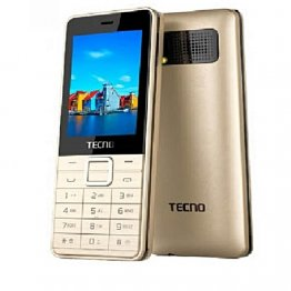 Tecno T660 - Dual Sim - 2MP - Front Camera With Flash - Gold