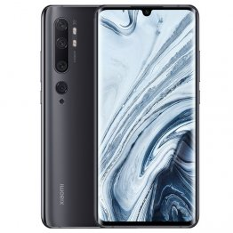 XIAOMI Mi Note 10 6.47 inches screen curve Amor screen display (6GB RAM + 128GB ROM), 108MP , 5260 Mah Long last battery , color : Midnight Black